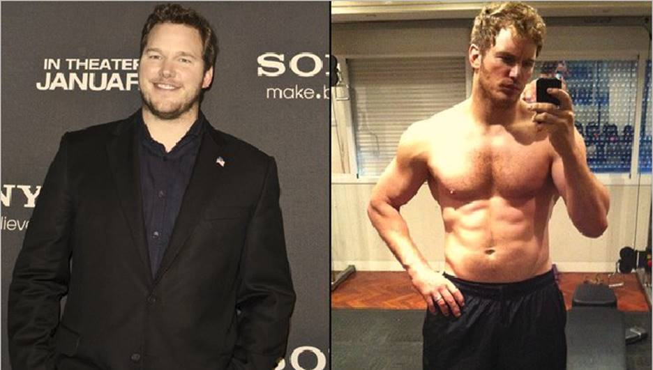 Chris Pratt Before and After